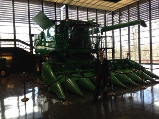 Combine from Harvester Works