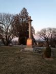 John Deere & family gravesite